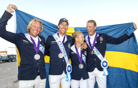 Swedish jumping team announced