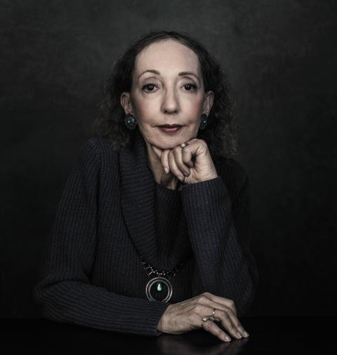 Joyce Carol Oates Author photograph © Dustin Cohen