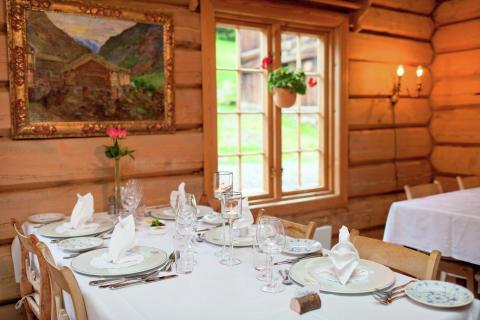 Norwegische Gastlichkeit in historischem Ambiente