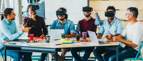 Fremtidens kontor virtuell