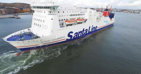 Santa Line – Stena Jutlandica