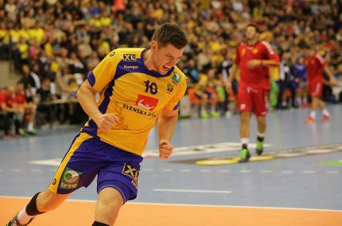 Handbollslandskamp mellan Sverige och Ungern i Jönköping