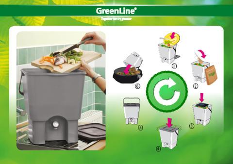 Kompostera med nya Urban Garden från GreenLine!