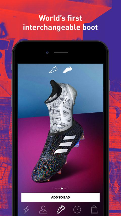 Powered by NewStore:  adidas bringt mit GLITCH innovative Schuhe ins mobile Zeitalter