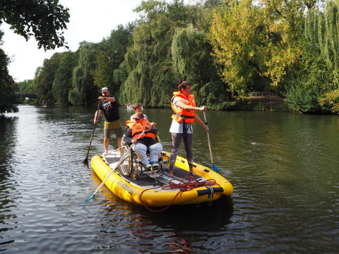 """3 Tage SUP-Expedition """"Round Fehmarn"""""""