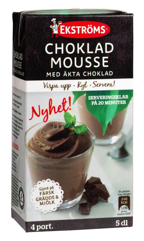 Ekströms Chokladmousse