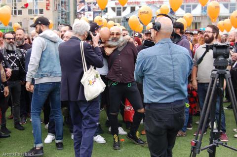 Skägg intog Stockholm i helgen under internationella skäggdagen!