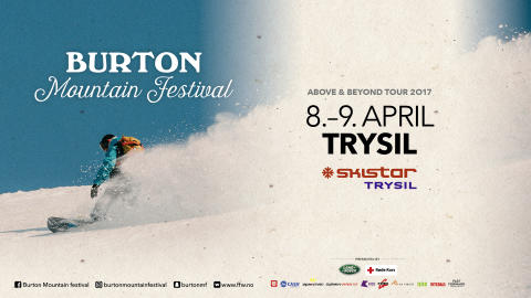 Burton Mountain Festival, Trysil lørdag 8 april!