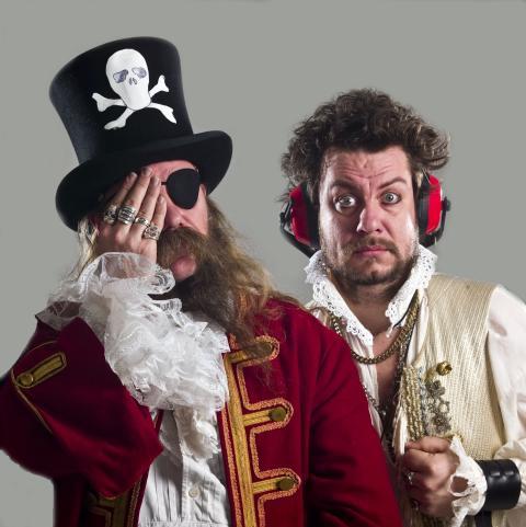 Kaptein Rødskjegg og Kalle kaprer Barnas Båt