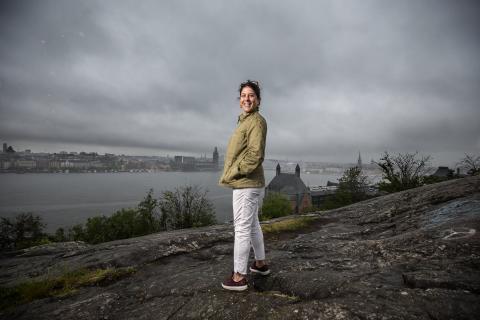Dilsa Demirbag-Sten. Foto: Håkan Lindgren