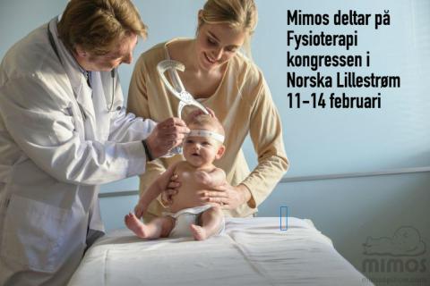 Mimos deltar på norska Fysioterapi kongressen i Lillestrøm 11-14 feb