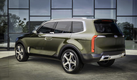 Kia Telluride SUV konceptbil