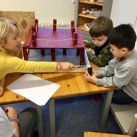 Framtidens byggare går på Rudsängens förskola