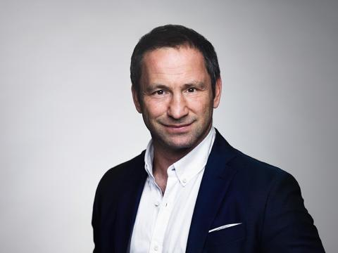 Paolo Roberto är inspirationsföreläsare på Väsby Promotions årsmöte