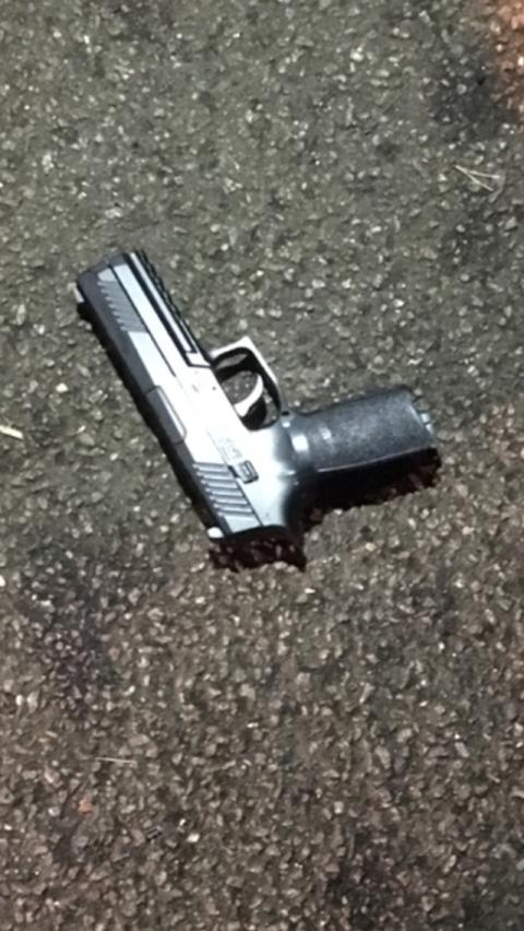 Firearm recovered in Bushey