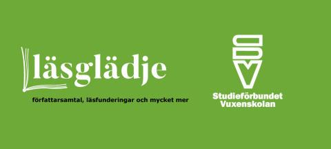Nu startar podden Läsglädje –  Studieförbundet Vuxenskolan är avsändare