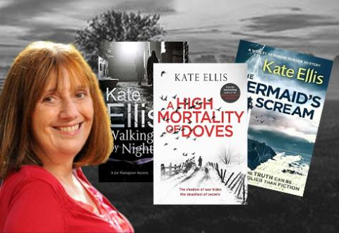 Meet crime author Kate Ellis at Bury Library