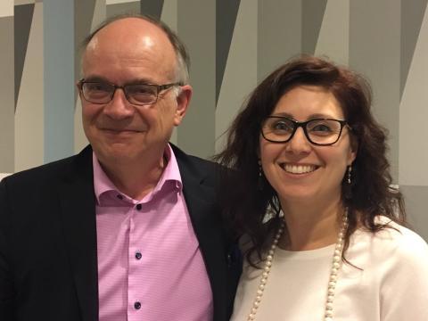 Göran Stiernstedt och Vivianne Macdisi
