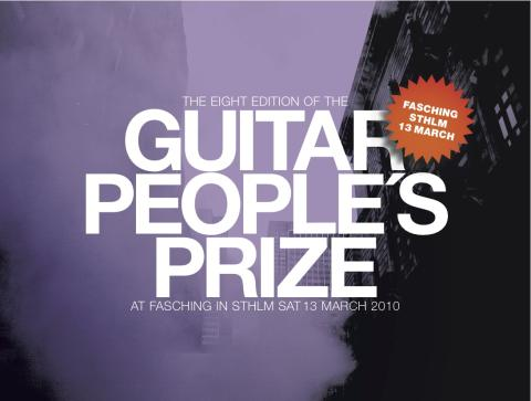 Guitarpeople's Prize 2010