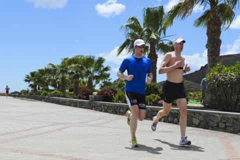 Hver tredje dansker dyrker motion på ferien