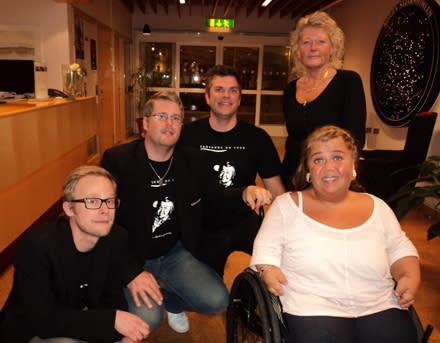 Het premiär för Frösunda on Tour i Skellefteå