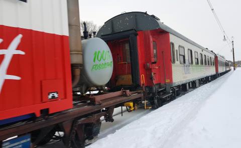 Nattåg till Kittelfjäll, Borgafjäll och Hemavan Tärnaby