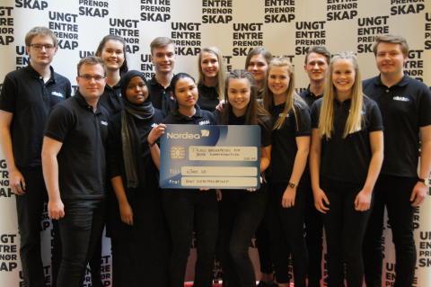 Flora-elever til topps på NM for Ungdomsbedrifter