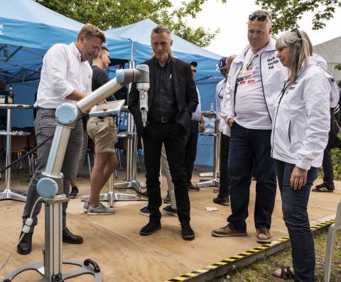 ATV-rapport: Robotterne kommer – og danskerne er klar til de nye teknologier