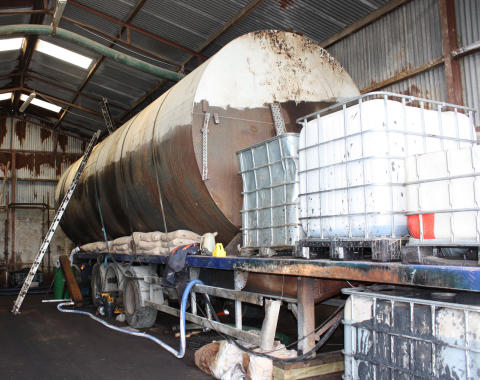 Co Armagh diesel laundering plant dismantled