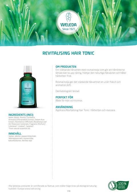 Revitalising Hair Tonic