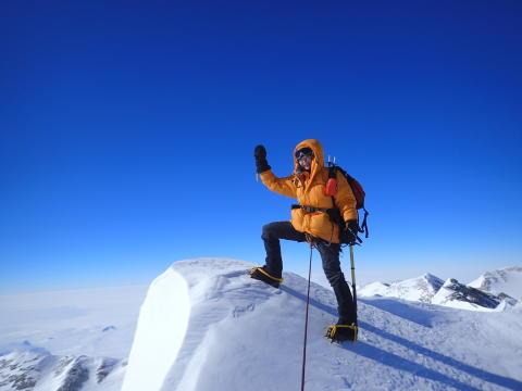 Hon har bestigit alla berg i världen – nu bestiger hon vårt!