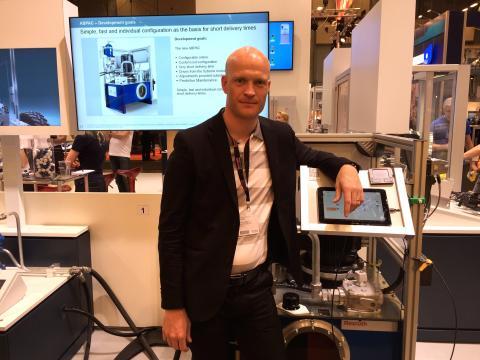 Bosch Rexroth satsar på uppkopplad övervakning