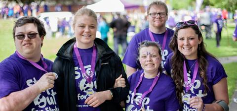 Step Out in Weston-super-Mare to support stroke survivors