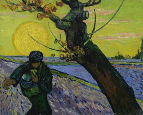 Vincent van Gogh, The Sower, 1888