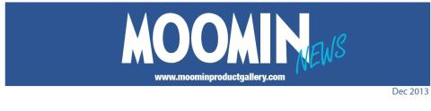 Moomin Newsletter, December 2013
