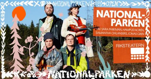 Nationalparken spelar i Umeå – folkmusik och naturlyrik om begravningen av en gammal gran