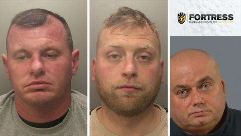 Three men jailed for conspiracy to supply cannabis worth £2.25million