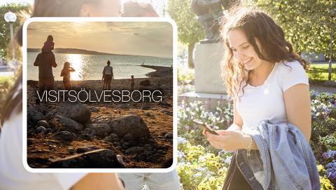 Sölvesborg i fickformat - app lanseras för besökare och invånare!