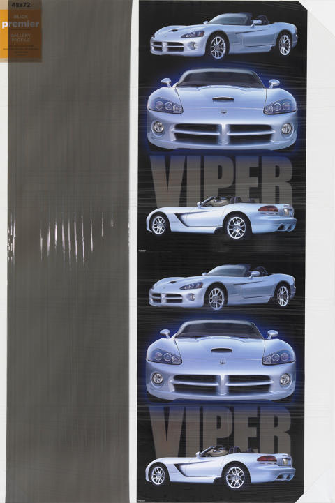 Troløse bilder/Faithless Pictures, Josephine Meckseper,  Dodge Viper, 2008