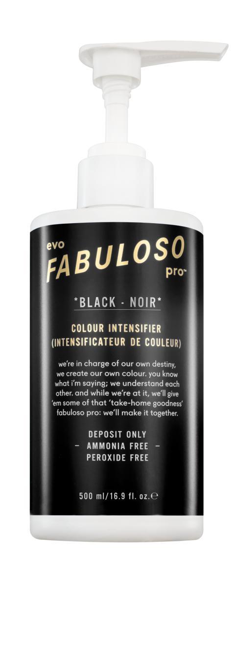 fab pro- back bar black