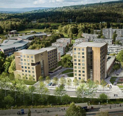 Byggeplassbefaring Nye Kringsjå studentboliger