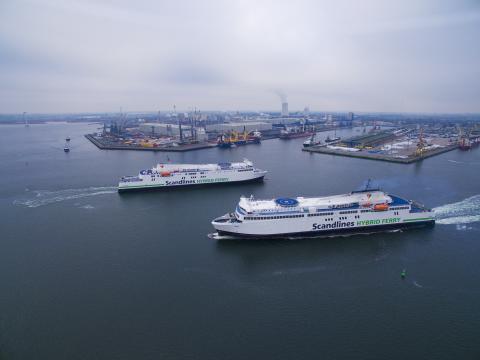 """Scandlines' neue Hybridfähren """"Berlin"""" und """"Copenhagen"""""""
