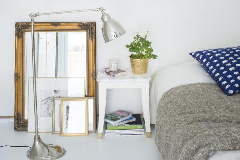 DIY: Ge din pall eller ditt bord en skiva av marmor