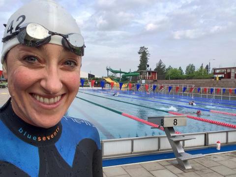 Triathlonpremiär till helgen
