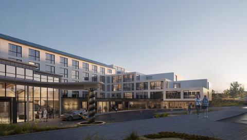 Fredblad arkitekter bakom Hotel Tylösands nya framsida