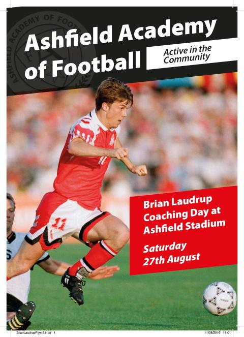 Football Coaching with Brian Laudrup