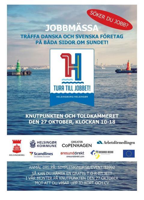 Tura till jobbet - svenskdansk jobbmässa i Helsingborg och Helsingör