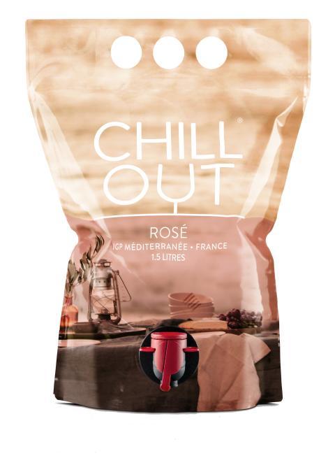 CHILL OUT Rosé IGP Méditerranée 1,5 L. produktbild