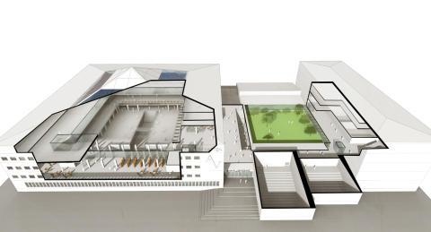 Eitech får en betydande roll i ombyggnaden av Chalmers Campus Johanneberg