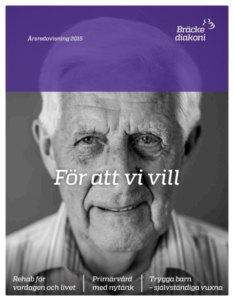 Bräcke diakonis årsredovisning 2015